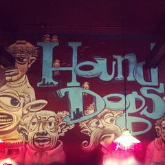 Photo taken at Hounddog's Three Degree Pizza by December on 9/27/2013