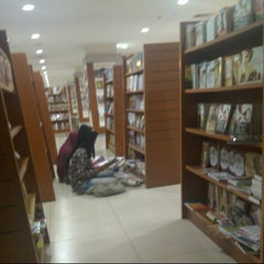 Photo taken at Gramedia by Rini O. on 10/12/2012
