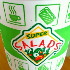 Photo taken at Super Salads by Luis c. on 10/16/2012