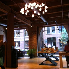 Photo taken at Salon Buzz River North by Vanessa N. on 7/27/2013