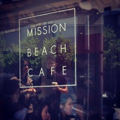 Photo taken at Mission Beach Cafe by Yvonne on 7/6/2013