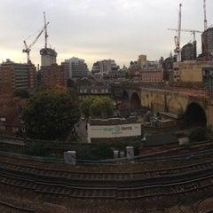 Photo taken at Travelodge by David P. on 10/17/2012