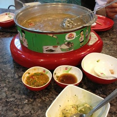 Photo taken at Hot Pot Inter Buffet by Wanchai S. on 8/12/2013