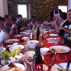 Photo taken at Antica Macelleria Cecchini by Syrah wine cafè M. on 5/20/2012