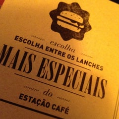 Photo taken at Estação Café by Matheus F. on 10/18/2012
