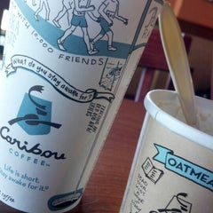 Photo taken at Caribou Coffee by Chad H. on 10/21/2012