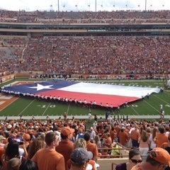 Photo taken at Darrell K. Royal-Texas Memorial Stadium by Hubert F. on 11/10/2012
