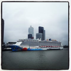 Photo taken at Cruise Terminal by Derek W. on 4/26/2013