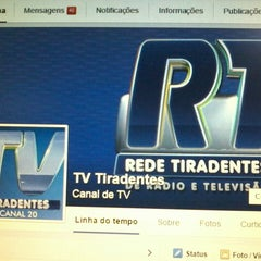 Photo taken at Rede de Rádio e Televisão Tiradentes by PryGuimarães on 4/10/2015