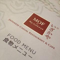 Photo taken at MOF @ My Izakaya by Janice on 11/23/2012