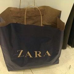 Photo taken at Zara by Юрий К. on 1/1/2014