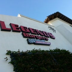 Photo taken at Legends Burgers by Alex A. on 1/21/2013