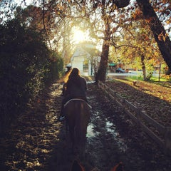Photo taken at Diamond Bar Stables by Mariah on 12/29/2012