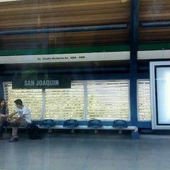 Photo taken at Metro San Joaquín by Jaca on 10/18/2012