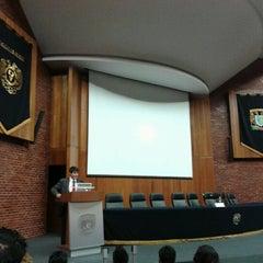 Photo taken at UNAM Facultad de Medicina by Fab G. on 10/13/2012
