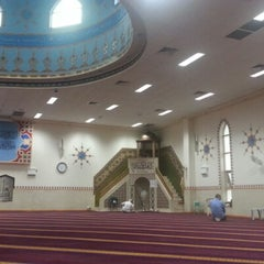 Photo taken at Lakemba Mosque by Felix S. on 3/26/2013