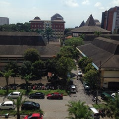 Photo taken at Gedung A FISIP by Kemala P. on 2/26/2014