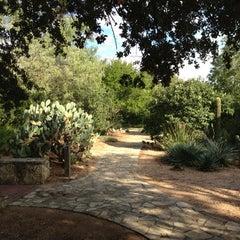 Photo taken at San Antonio Botanical Garden by Jon P. on 10/27/2012