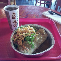 Photo taken at Cafe Rio Mexican Grill by Jason A. on 6/16/2014
