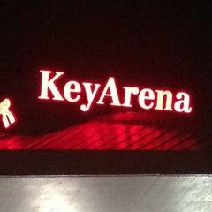 Photo taken at KeyArena at Seattle Center by Eline on 2/2/2013