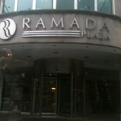 Photo taken at Ramada Plaza İstanbul City Center by Erdem ;. on 11/3/2012