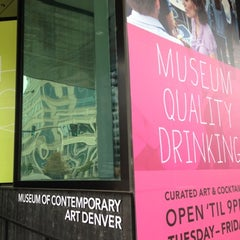 Photo taken at Museum Of Contemporary Art Denver by Kevin on 9/25/2012