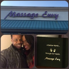 Photo taken at Massage Envy Spa Austell by Stephant P. on 11/15/2014