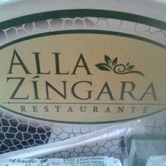 Photo taken at Alla Zíngara Restaurante by Naetê B. on 12/28/2012