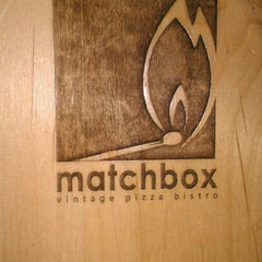 Photo taken at Matchbox Vintage Pizza Bistro by Kimmie D on 11/26/2012