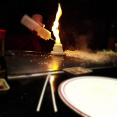 Photo taken at Hibachi of Valley Forge by Josh S. on 11/22/2012