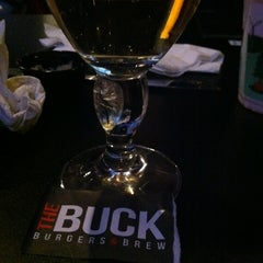 Photo taken at The Buck Burgers & Brew by Rachele on 10/20/2012