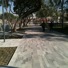 Photo taken at Parque Alameda by Sendy on 12/7/2012