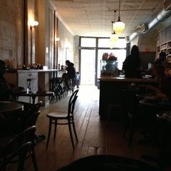 Photo taken at Cafe Madeline by Alexander N. on 11/15/2012