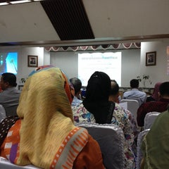 Photo taken at Perpustakaan Nasional RI by Ina I. on 9/8/2014