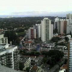 Photo taken at Avenida Santo Amaro by Thaís U. on 2/28/2013