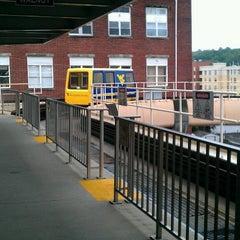 Photo taken at Walnut PRT Station by David P. on 8/19/2013
