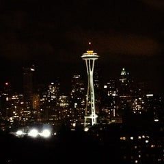 Photo taken at Kerry Park by Justin J. on 11/4/2012
