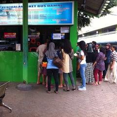 Photo taken at Terminal DAMRI Gambir by Mr Husni (. on 7/6/2014