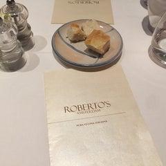 Photo taken at Roberto's Restaurant by Roberto d. on 10/25/2015