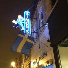 Photo taken at Simon's Tavern by Bessie on 1/27/2013