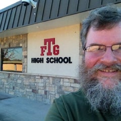 Photo taken at Fort Gibson High School by Scott N. on 11/20/2012