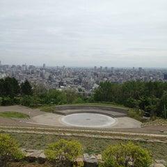 Photo taken at 旭山記念公園 by Yuki A. on 6/3/2013
