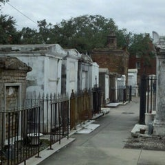 Photo taken at St. Louis Cemetery No. 1 by David P. on 10/1/2012