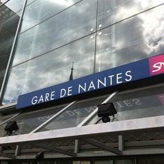 Photo taken at Gare SNCF de Nantes by Romain B. on 4/19/2013