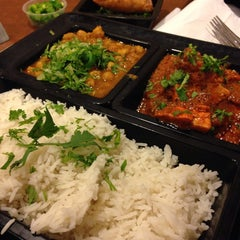 Photo taken at Saffron by FoodTrucker T. on 8/2/2014