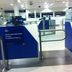 Photo taken at Security/Passport Control - T1 by Ksenia on 11/12/2012