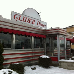 Photo taken at Glider Diner by ms feminist on 1/5/2013
