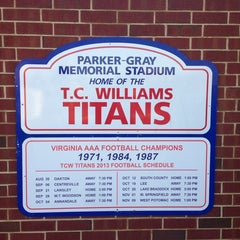 Photo taken at T.C. Williams High School by Cycling P. on 5/18/2014