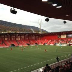 Photo taken at Stade de la Maladiere by Tobias on 11/11/2012