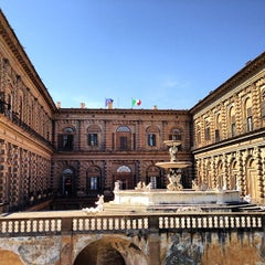 Photo taken at Palazzo Pitti by R A. on 4/19/2013